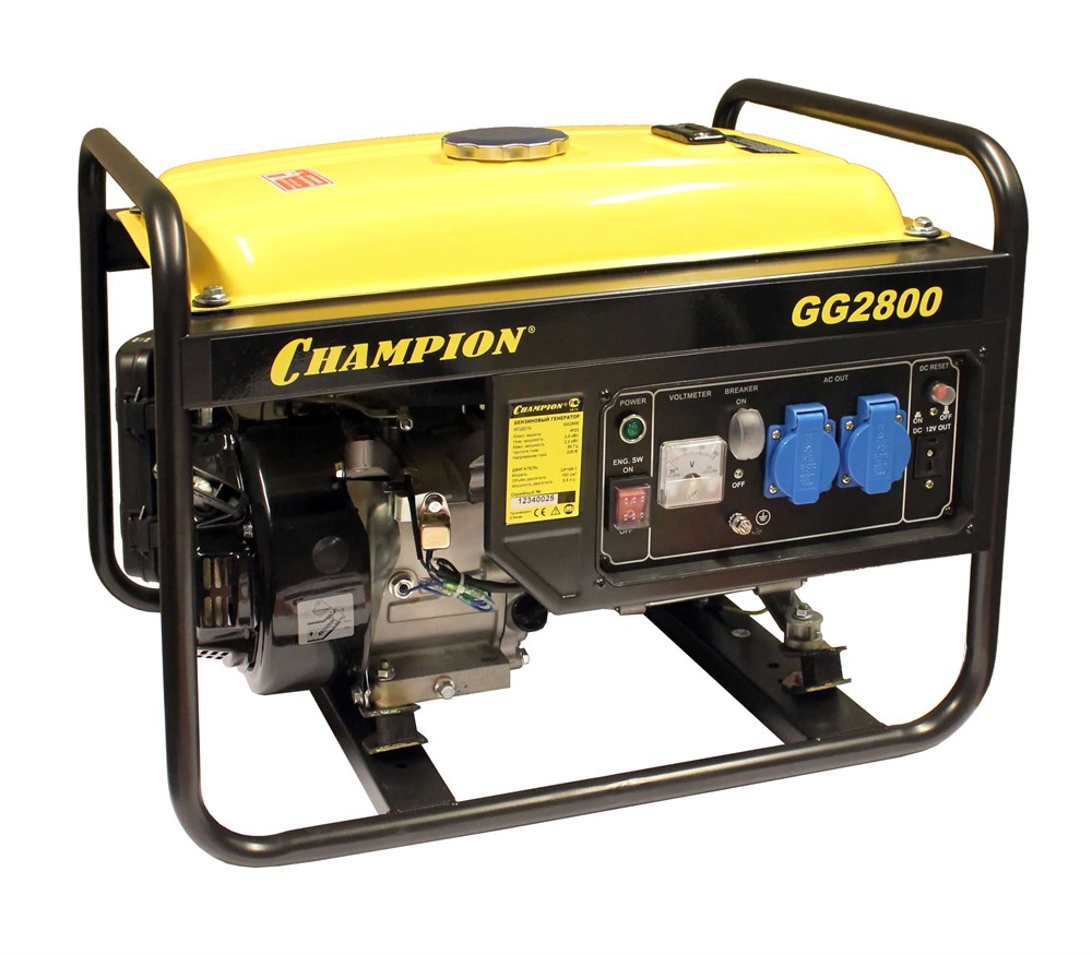 Бензиновый генератор patriot 3500