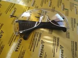 Очки защитные прозрачные с дужками champion c1009 - фото 4738