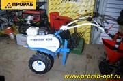 Мотоблок Нева  МБ-2-Н (Хонда) 5,8 Мульти Агро (GX200) с тяговыми колесами 16*6,5-8